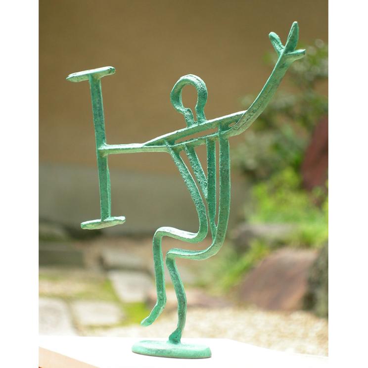銅鐸絵画紋飾り「人物」
