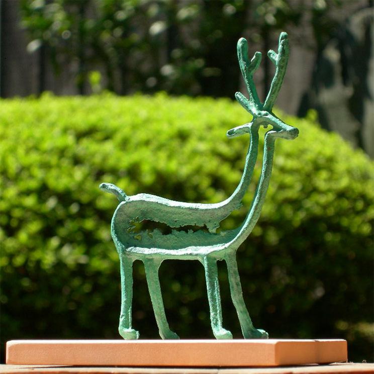 銅鐸絵画紋飾り「鹿」