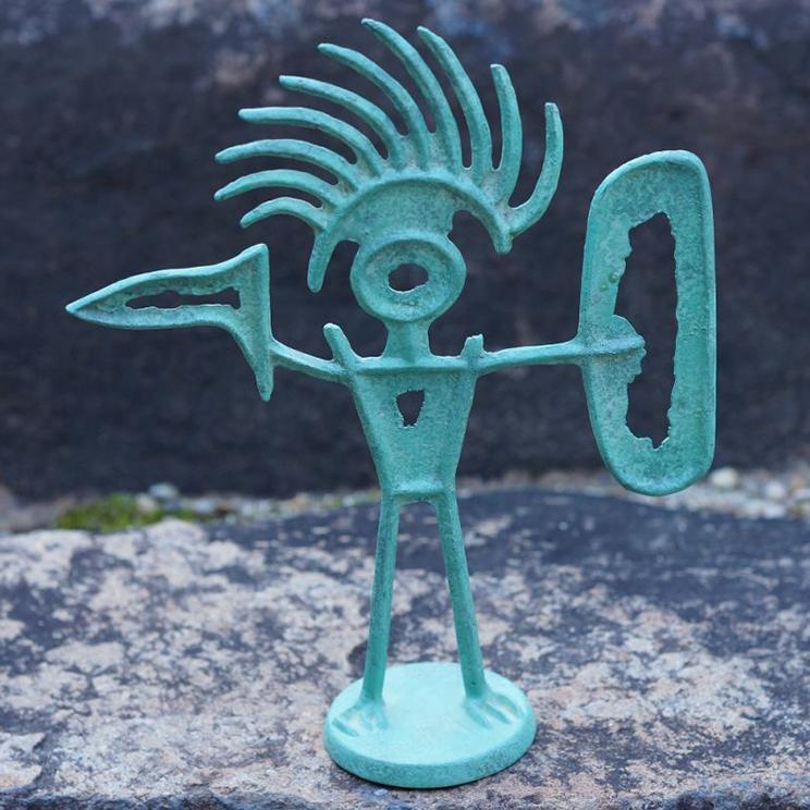青銅置物 「守護神」