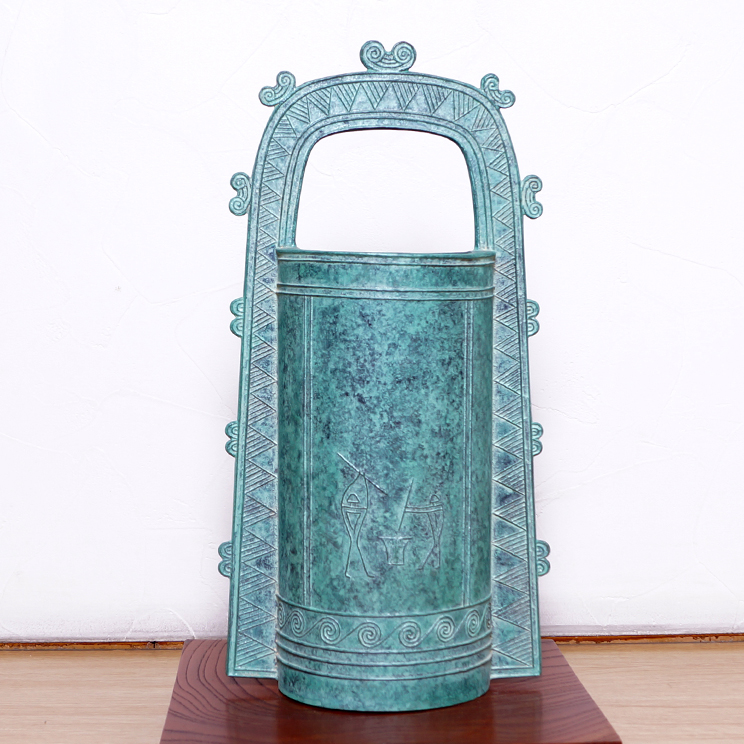 銅鐸紋青銅花器